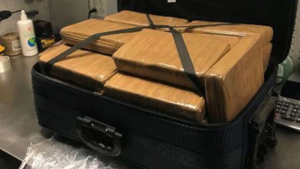 Authorities seize $1.3 million in cocaine from suitcase at New York airport - ABC News