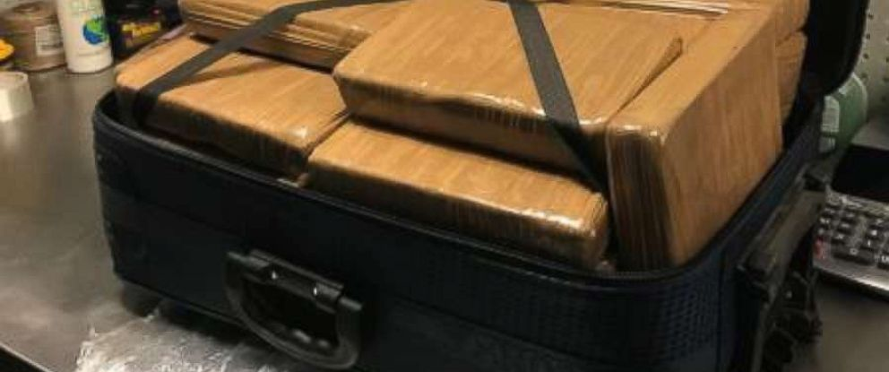 PHOTO: Customs and Border Protection seized 100 pounds of cocaine worth $1.3 million at John F. Kennedy Airport in New York City on Nov. 21, 2018.