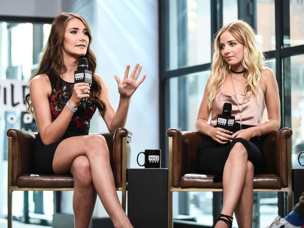 PHOTO: Juliet Evancho, left, and Jackie Evancho attend the Build Series to discuss their show Growing Up Evancho at Build Studio on August 8, 2017 in New York City.