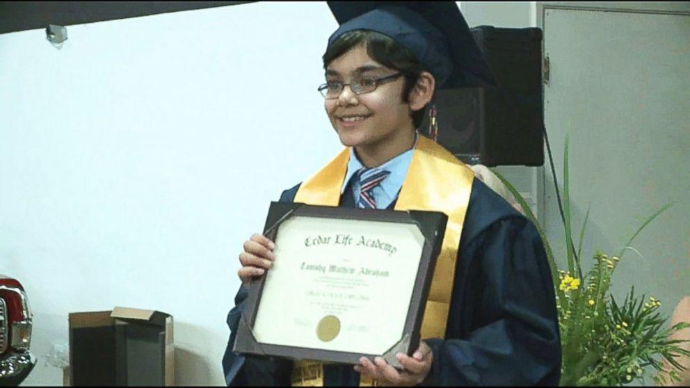 10 Year Old Genius Graduates High School Abc News