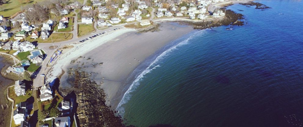 PHOTO:Coastline of Kennebunkport, Maine.
