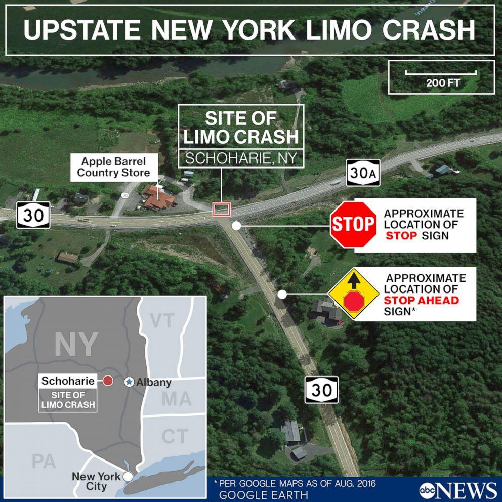 Upstate New York Limo Crash