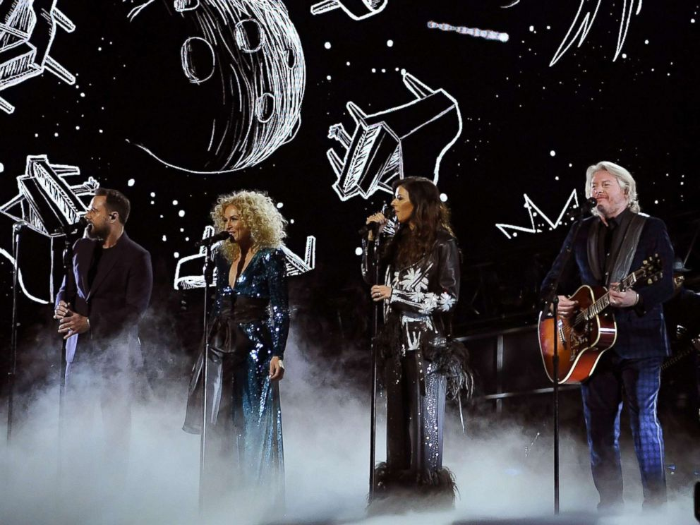 PHOTO: Little Big Town performs at Madison Square Garden in New York City, Jan. 30, 2018.