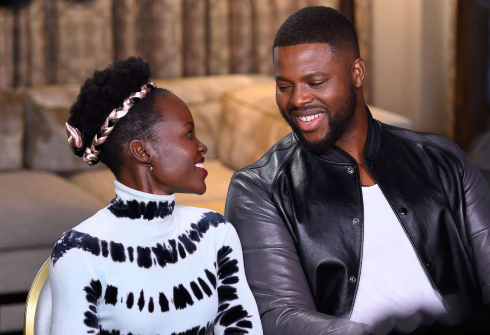 Lupita Nyongo and Winston Duke chats with Chris Connelly for Nightline on their roles in the horror film, Us.
