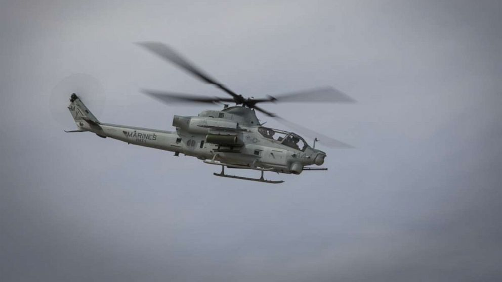 2 Marines killed in helicopter crash near Yuma, Arizona