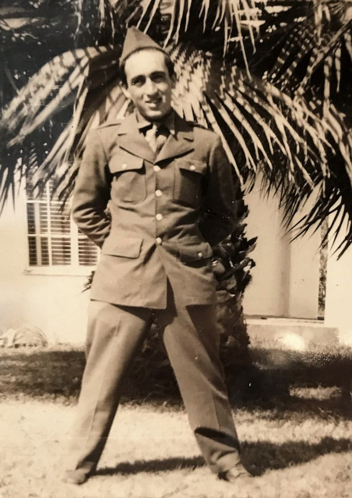 PHOTO: Onofrio Zicari, 96, of Las Vegas, Nevada, fought with the 5th Amphibious Brigade, 5th Wave on D-Day. He also fought through France, Belgium and Luxembourg.
