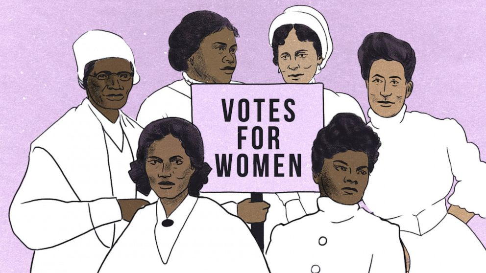 Black women finally getting their due for their work to secure women's right to vote