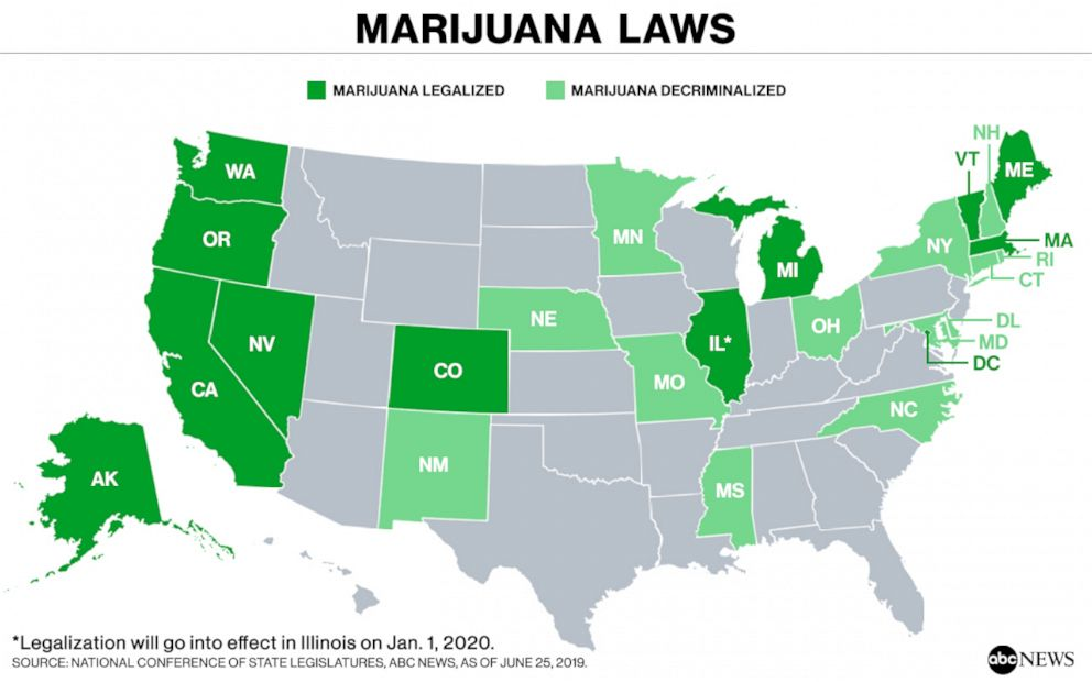 IL becomes the 11th state to legalize recreational marijuana