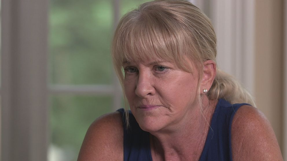 PHOTO: Mary Jo Buttafuoco speaks with 20/20 27 years after she was shot by Amy Fisher.