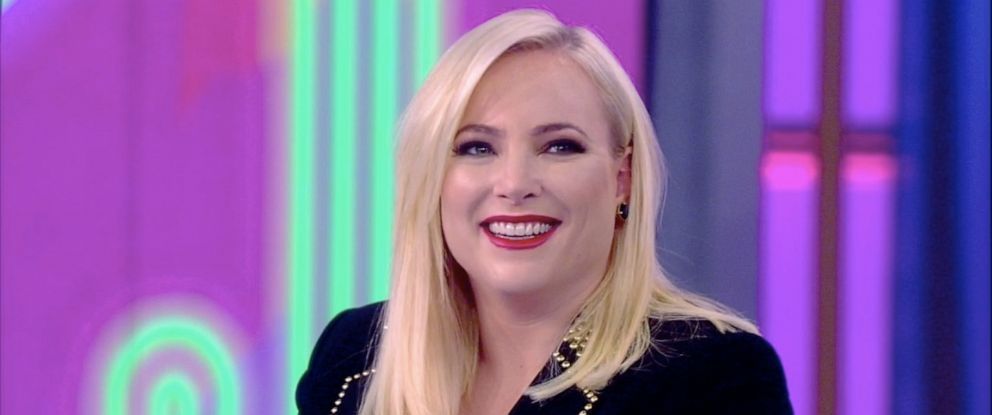 "PHOTO: Meghan McCain reacts to a surprise birthday message from former House speaker Paul Ryan on ""The View,"" Oct. 23, 2019."