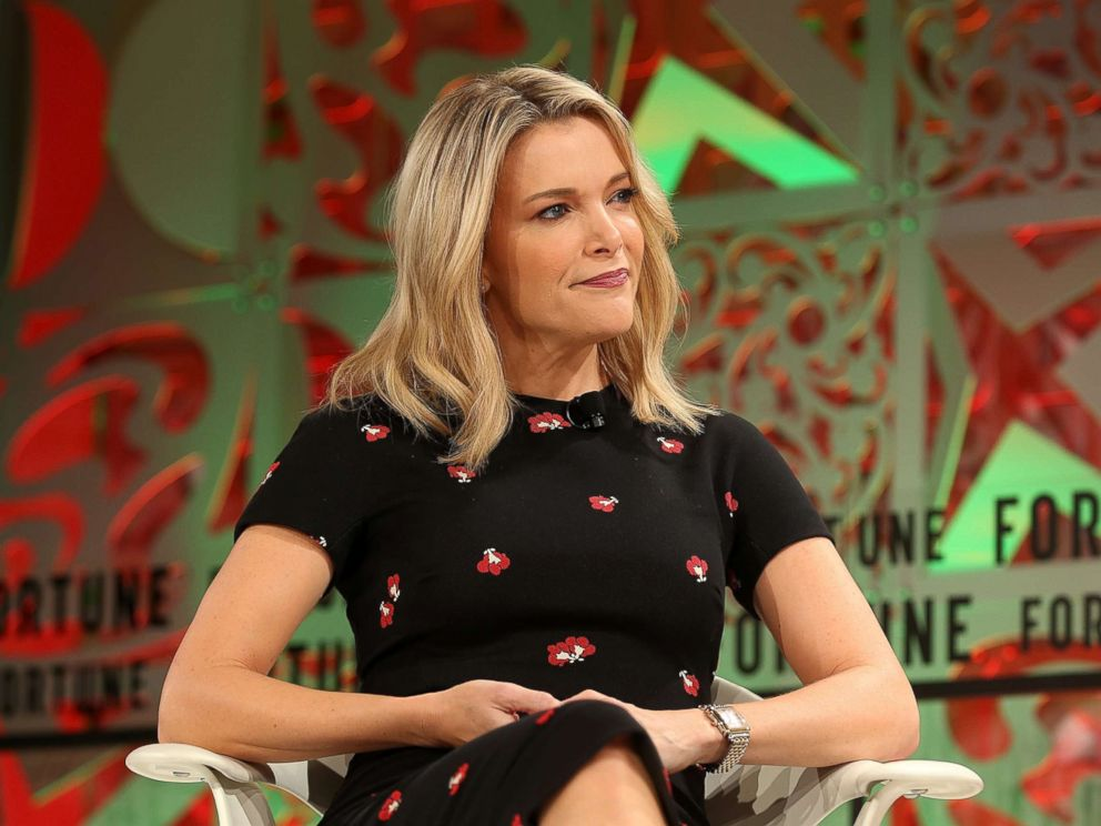 PHOTO: Megyn Kelly speaks on stage at the Fortune 2018 Women's Power Summit at the Ritz Carlton Hotel on October 2, 2018 in Laguna Niguel, California.