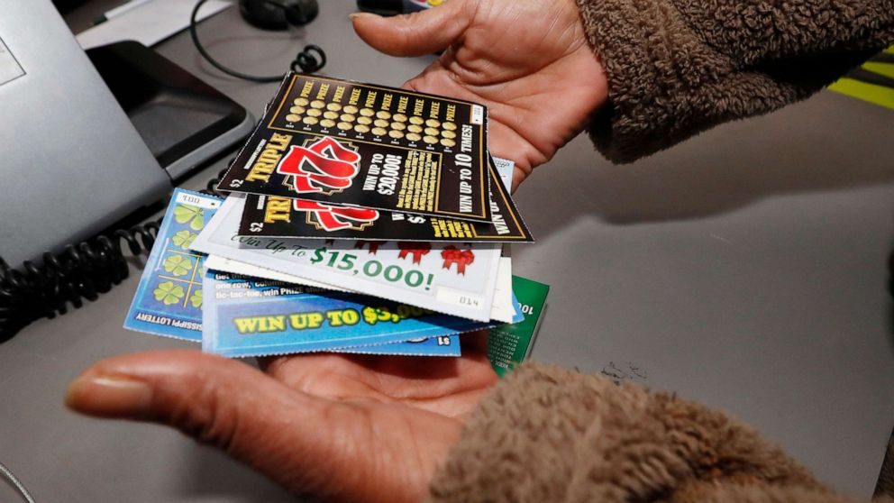 Lottery tickets sold in Mississippi for 1st time in state's