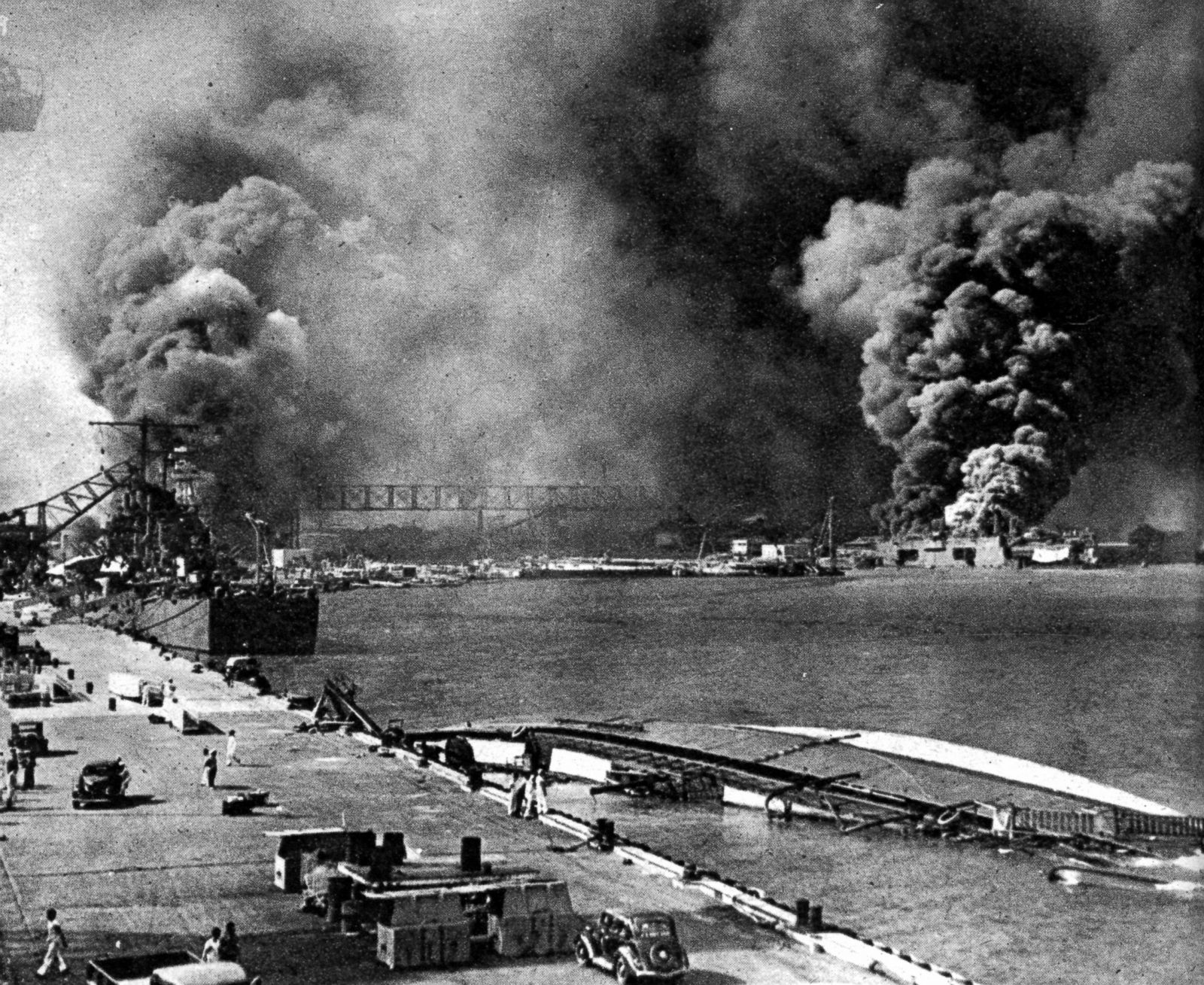 """the loss caused from pearl harbor day 12 powerful pearl harbor quotes commitment clear to the cause pearl harbor and soar above the important sites that played a part in the """"day of infamy."""