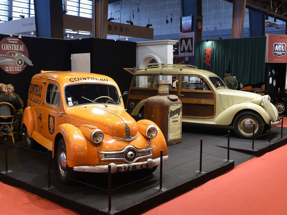 Classic Car Collectors Meet in France for Retromobile Week - ABC News