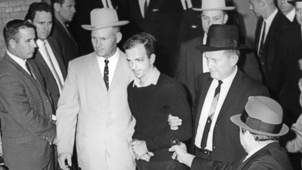 PHOTO: Jack Ruby approaches and shoots Lee Harvey Oswald,