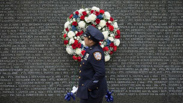 NYPD officers who died of 9/11-related illnesses in recent years added to memorial