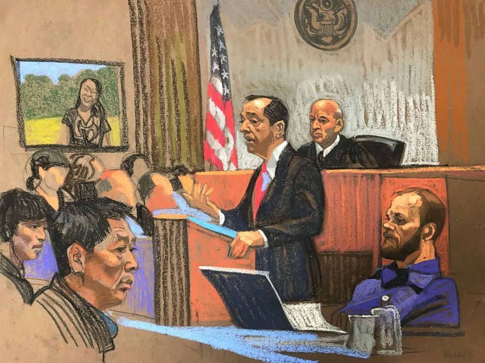 PHOTO: Assistant U.S. Attorney Eugene Miller gave his opening statement Wednesday in the Yingying Zhang trial.