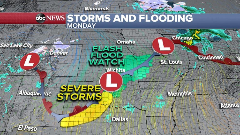 PHOTO: Texas severe weather