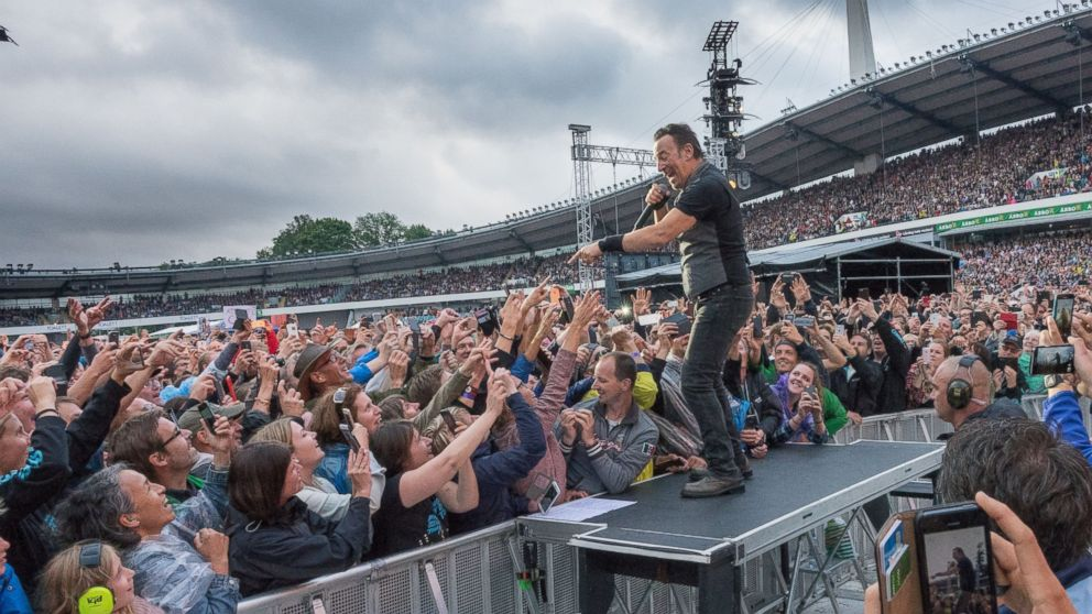 In Sweden, Bruce Springsteen and the Ties That Bind - ABC News