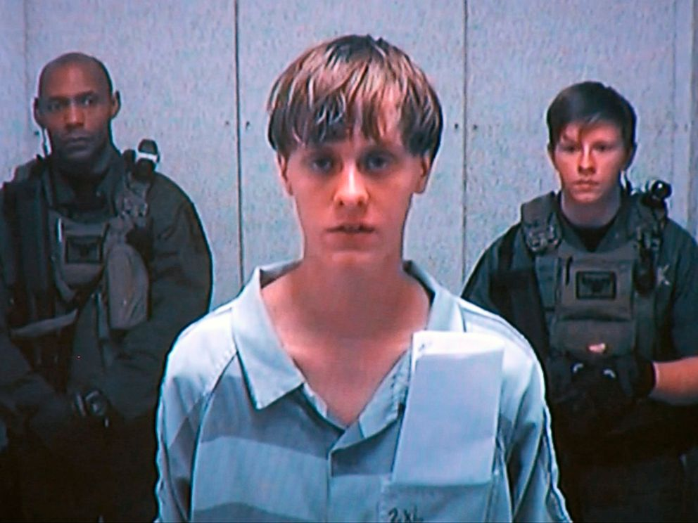 PHOTO: Dylann Roof appears at his bond hearing in Charleston, S.C., June 19, 2015, in a still image from video.