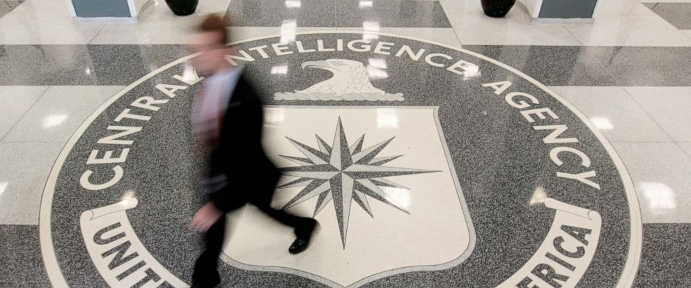 PHOTO: The lobby of the CIA Headquarters Building in Langley, Virginia.