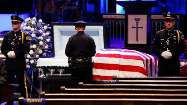 Slain Dallas Police Officers Mourned at Funerals