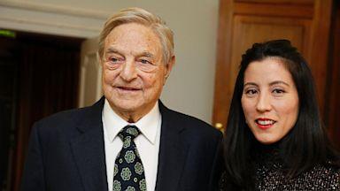 PHOTO: George Soros and Tomiko Bolton