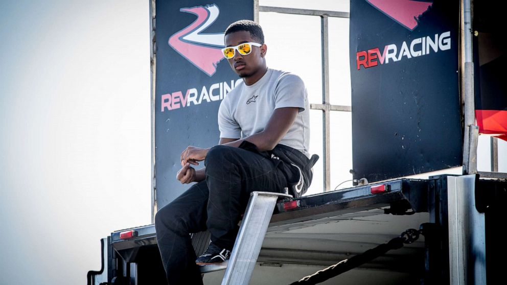 Aspiring driver Rajah Caruth discusses his journey, why Bubba Wallace is a task mannequin thumbnail