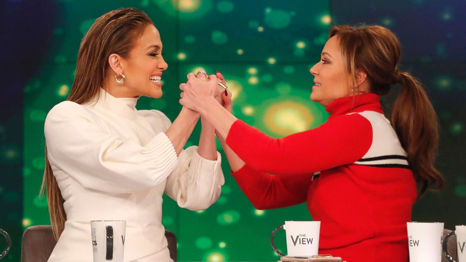 Close like sisters': Jennifer Lopez and BFF Leah Remini, Co-Stars, share details of  their friendship - ABC News