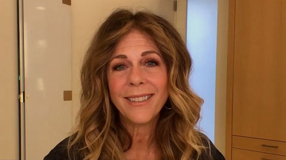 Rita Wilson on how doing hair and makeup less in quarantine can boost self-acceptance