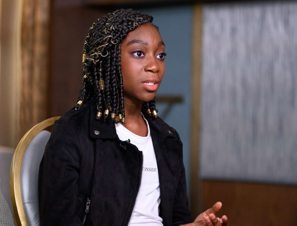 Shahadi Wright Joseph speaks with ABC News Chris Connelly about playing Zora Wilson in Us.