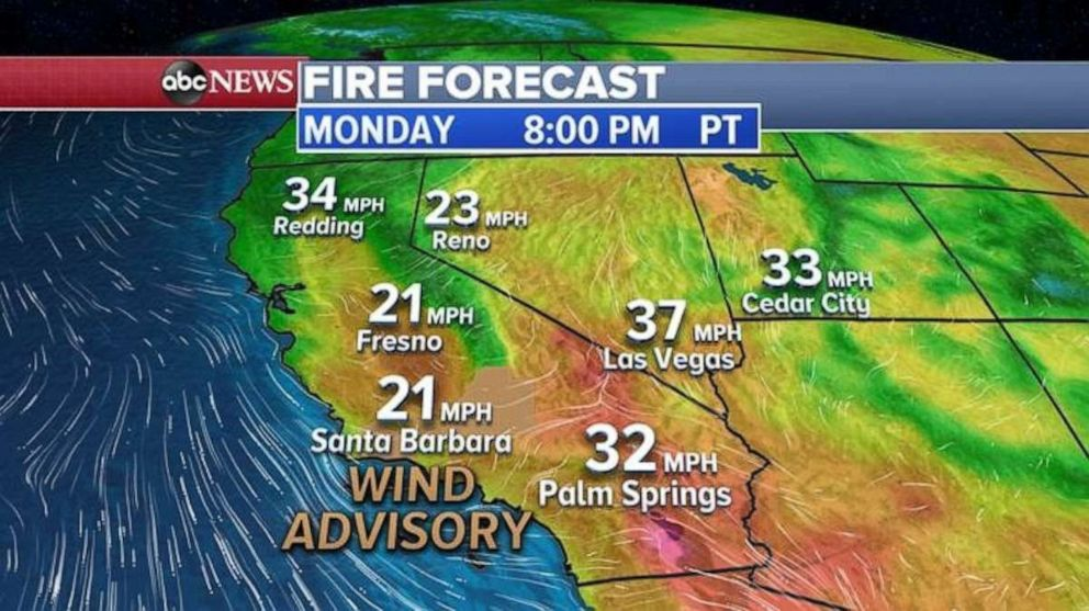 PHOTO: More wildfires could hit the Western U.S. today due to drier than average conditions.