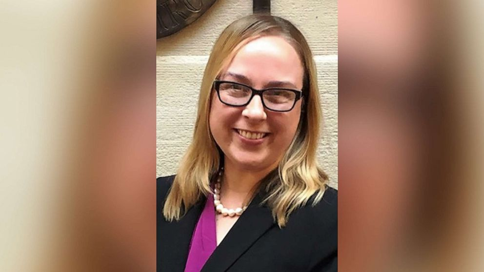 Stacia Hollingshead, pictured in this undated photo, was fatally shot on March 23, 2019 in Beaver Dam, Wis.