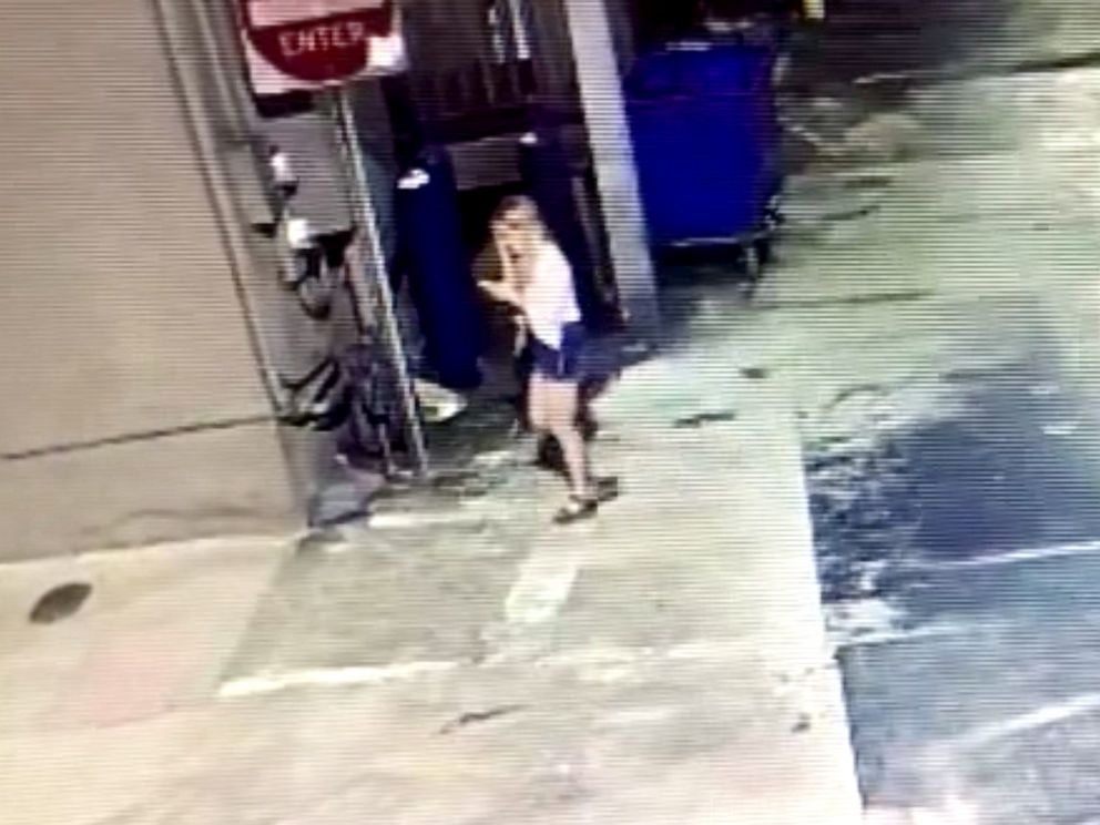 PHOTO: Surveillance video released by police shows Alexandria Ally Kostial, July 19, 2019, in Oxford, Miss.