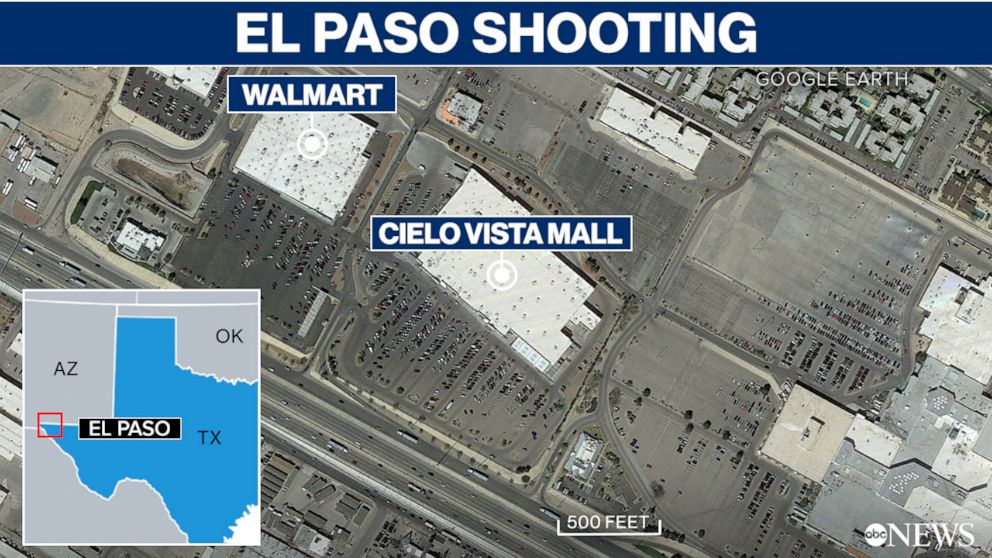 PHOTO: TX El Paso Walmart shooting
