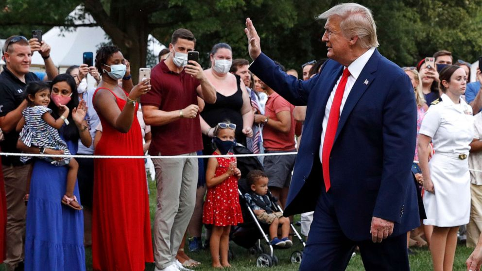 Coronavirus updates: Trump claims vaccine coming 'lengthy earlier than the top of the yr' thumbnail