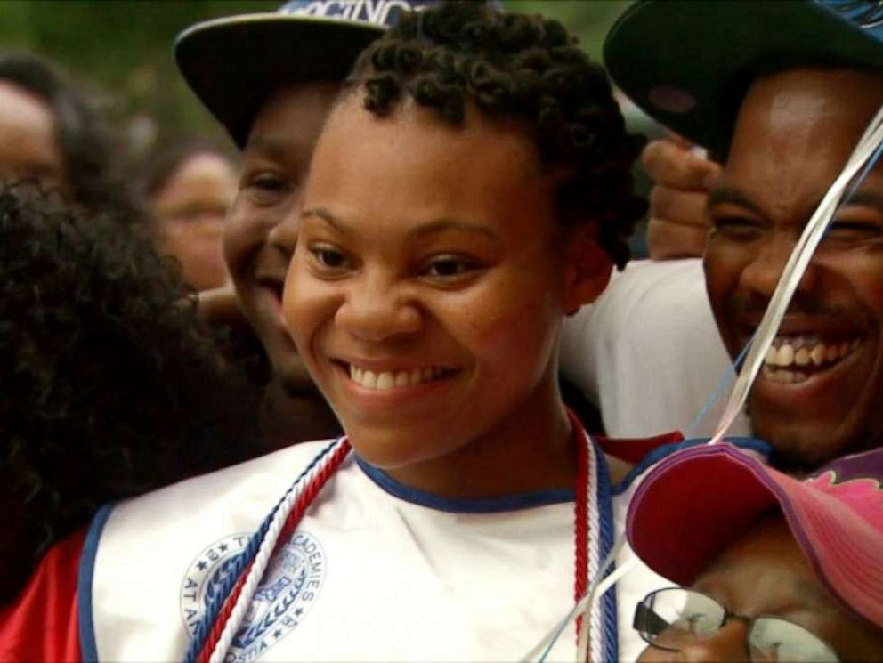 PHOTO: Rashema Melson, the newly graduated valedictorian from Anacostia High School, has lives with her family at D.C. General Homeless Shelter for the last three years.