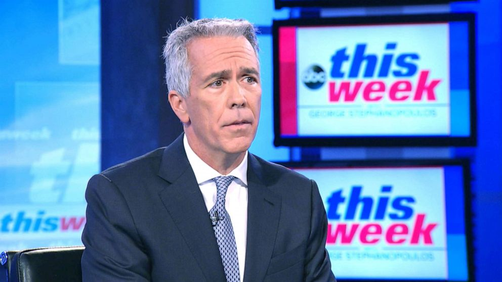 PHOTO: Former Congressmen Joe Walsh announces Republican presidential primary challenge against President Trump on ABCs This Week, Aug. 25, 2019.
