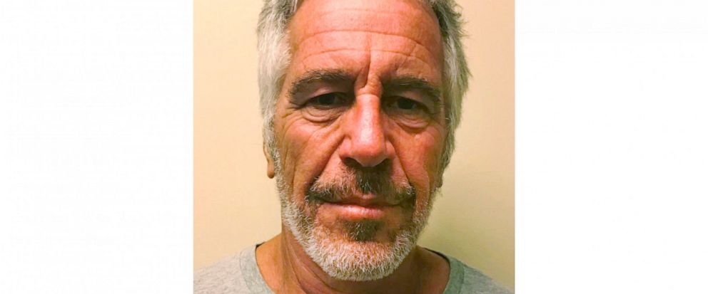 This March 28, 2017 image provided by the New York State Sex Offender Registry shows Jeffrey Epstein. The wealthy financier pleaded not guilty in federal court in New York on Monday, July 8, 2019, to sex trafficking charges following his arrest over
