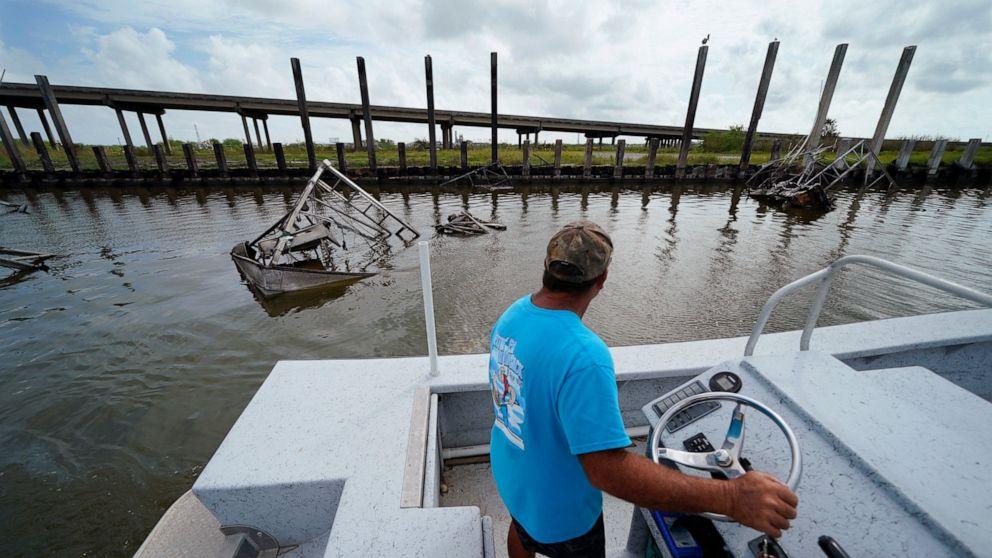 Image Louisiana's struggling seafood industry teetering after Ida