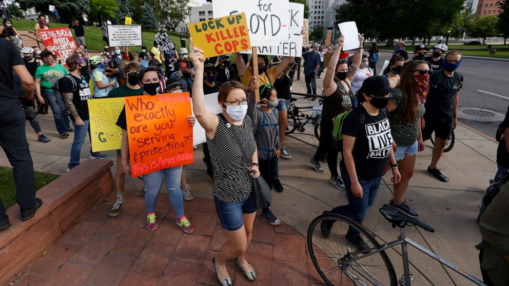 Anti-racism protests take place worldwide |Minneapolis Protests Washburn