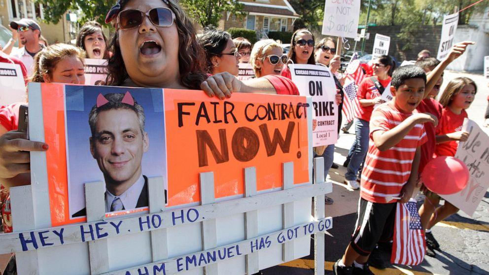 Chicago guru dapat menguji serikat' 'keadilan sosial' strategi