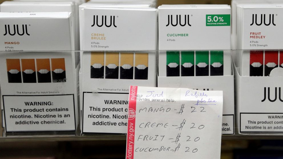 Previous Juul officer alleges company shipped tainted products thumbnail