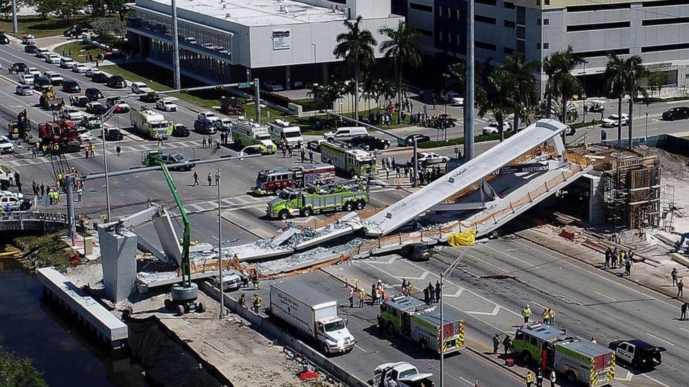 Records: Cracks in Miami bridge grew 'daily' before collapse
