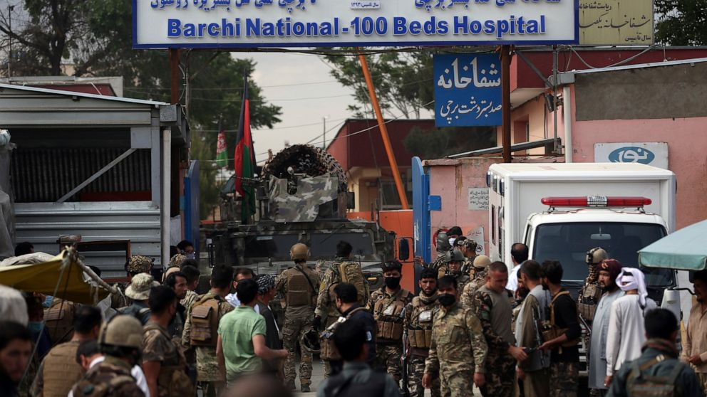 U.N.: Afghan healthcare personnel were deliberately attacked thumbnail