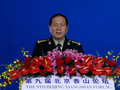 China issues stinging rebuke of US at Beijing defense forum