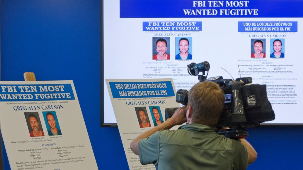 Greg Alyn Carlson, among FBI's 10 most wanted, likely killed