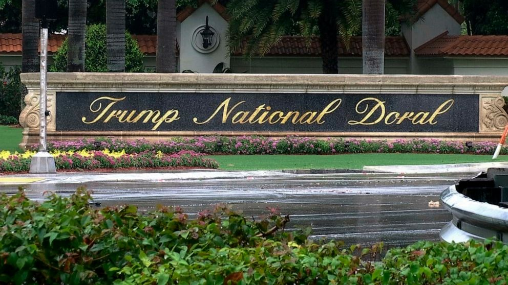 The Most Recent: Trump group cancels golf event with strippers thumbnail