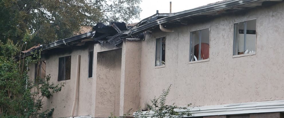 The scene of a fatal apartment fire at the Captiva Club apartments in Town n Country early Wednesday morning, May 15, 2019 in Tampa, Fla. Hillsborough County Fire Rescue crews and sheriffs deputies responded to a call at 3:23 a.m. about a fire at t