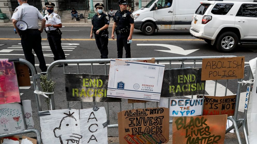 NYC finances vote looms as protests push for cuts to police thumbnail